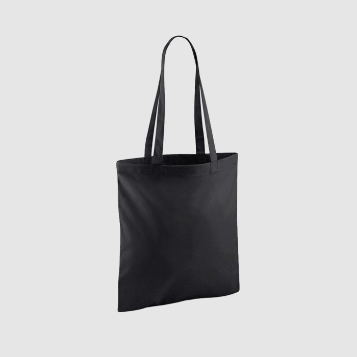 Promotional tote bag in black plus other colours