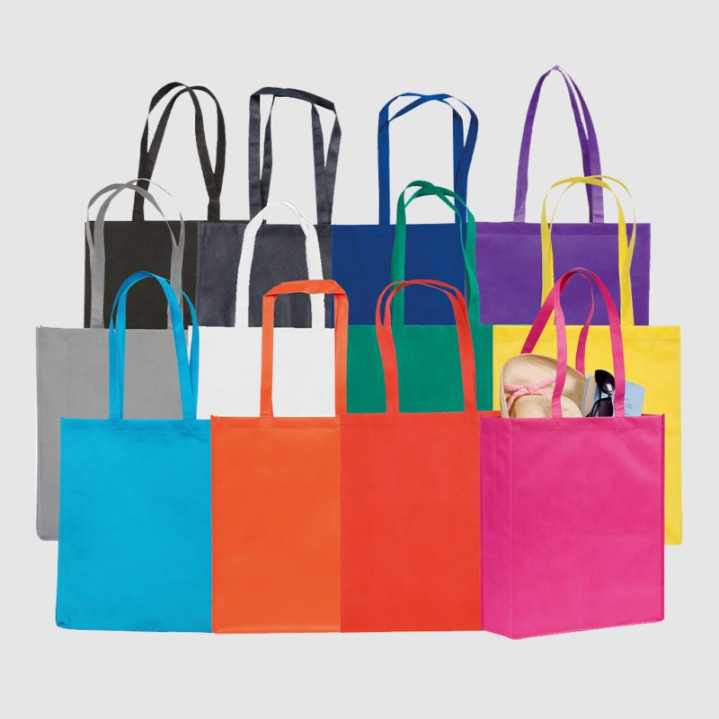 Custom polypropylene cotton bags made with eco friendly polypropylene