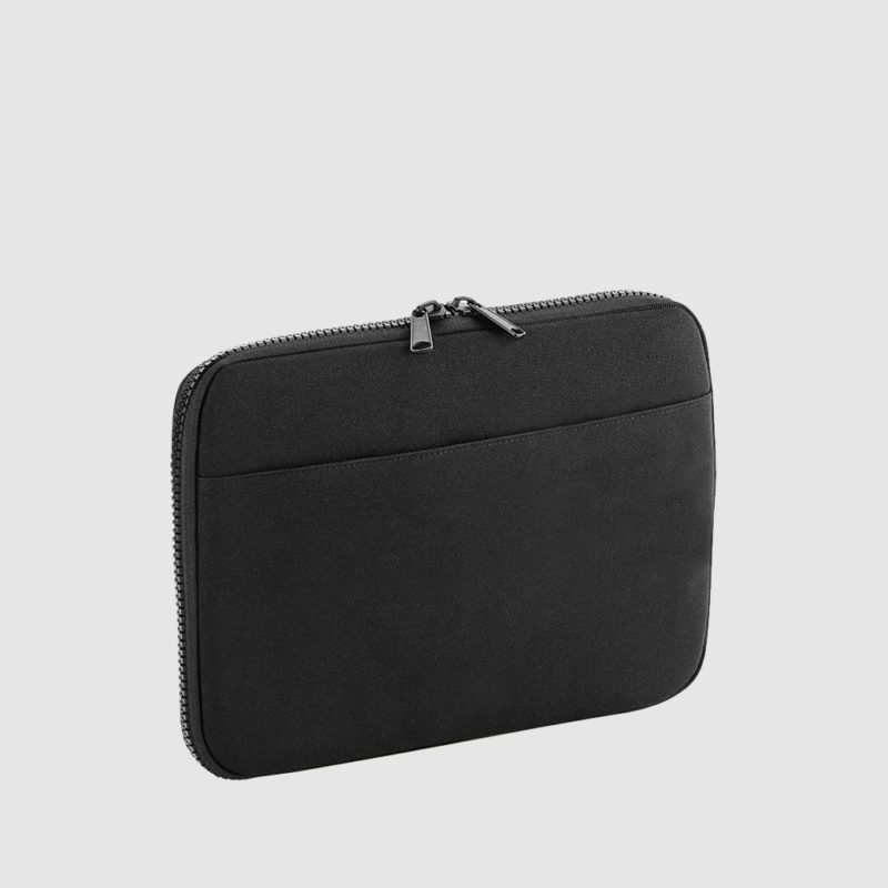 Custom Tech case, in black with multiple pockets