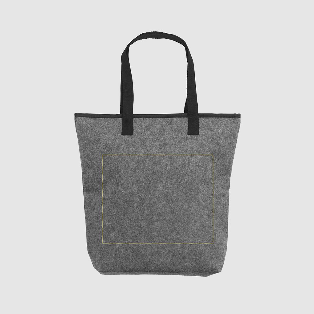 RPET cool bag with thermal fabric lining