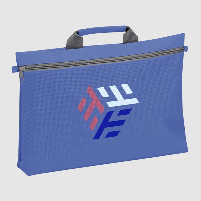 Custom travel document bag made from polyester
