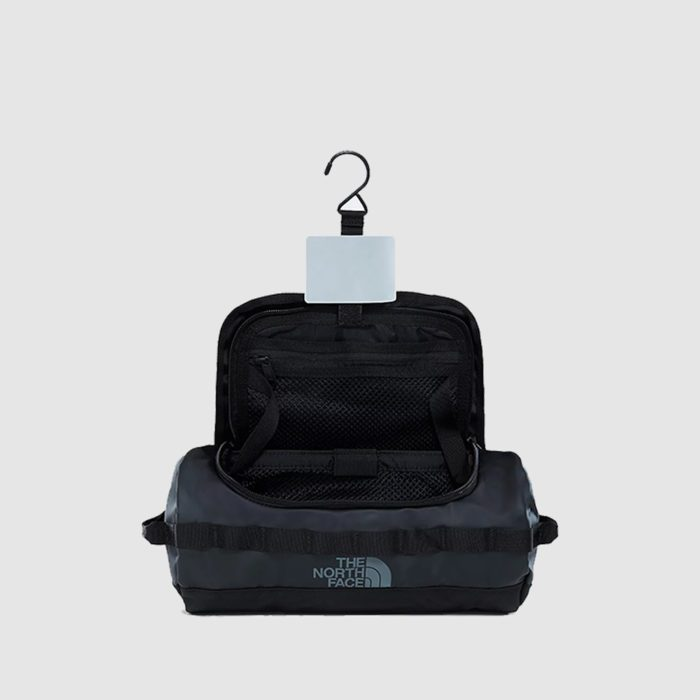 Custom The North Face base camp travel canister, with a removable hip belt