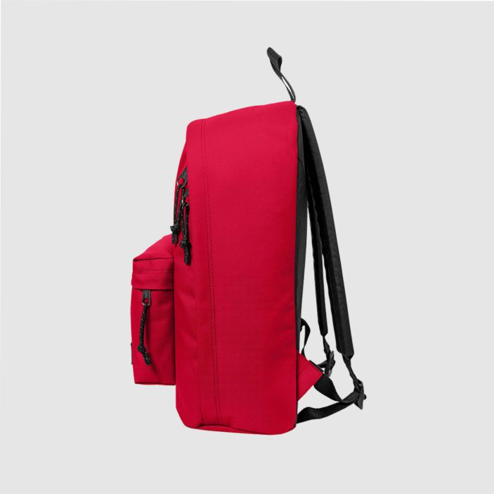 Custom 'Out of Office' by Eastpak, in black with two padded handles and a short handle for carrying