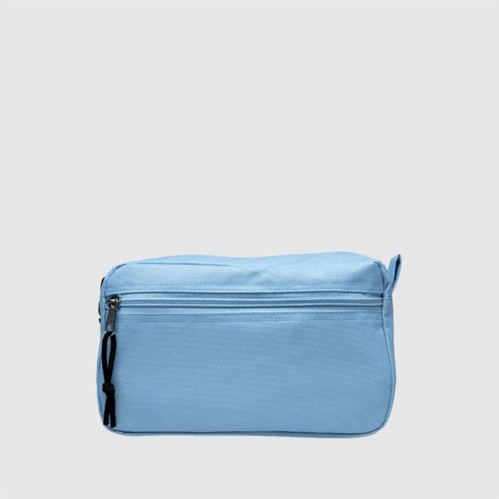 Custom colourful zip pouch made from polyester